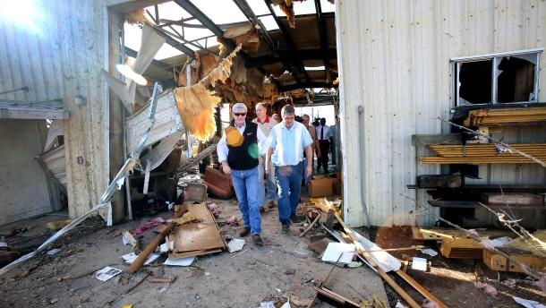 Mindestens 21 Tote nach Tornados
