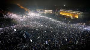 500.000 demonstrieren in Rumänien gegen die Regierung