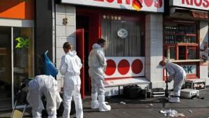Tödliche Schüsse nach Fußball-Streit in Bierbar