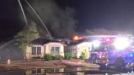 Über Twitter veröffentlichte die Feuerwehr von Gilbert Bilder des kuriosen Vorfalls.