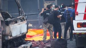 Viele Tote bei Explosion von Feuerwerksfabrik