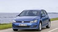 VW belegte direkt die ersten drei Plätze – am häufigsten entschieden sich die Käufer für einen Golf.