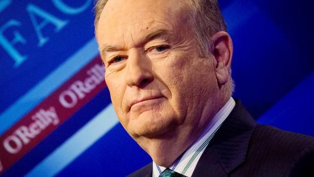 Trump verteidigt Bill O'Reilly als einen guten Menschen