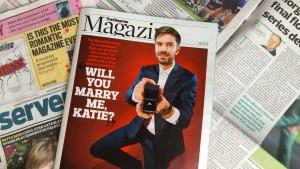 Brite macht Heiratsantrag auf Magazin-Cover