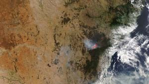 Buschfeuer in Australien weiten sich aus