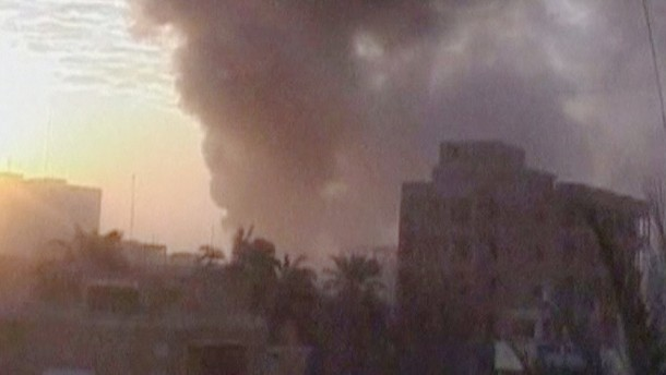 Die irakische Hauptstadt Bagdad ist am Donnerstag von einer Reihe von Explosionen erschüttert worden.