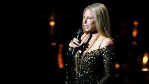 "Barbra Streisand performs the song ""Memories"" from the film ""The Way We Were"" at the 85th Academy Awards in Hollywood"