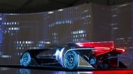 Bereits im Jahr 2017 will Faraday das erste Serienfahrzeug präsentieren. Der FFZero1 dient hauptsächlich Demonstrationszwecken.