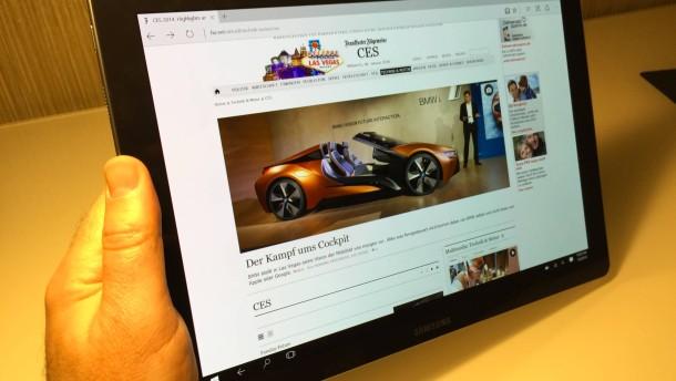 Ein Windows-Tablet sorgt für Ärger