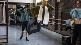 Flauschig im Ballett