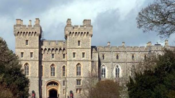 Sicherheitslücke: Bombenattrappe auf Schloß Windsor