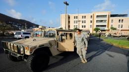 "Hurrikan ""Maria"" bedroht französische Karibikinsel Guadeloupe"