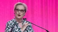 Meryl Streep hat sich in der Vergangenheit immer wieder gegen die Bevorzugung männlicher Filmschaffender durch die kalifornische Filmindustrie ausgesprochen.