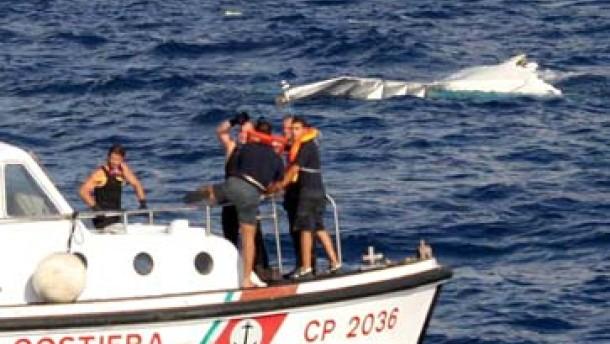 Mißglückte Notwasserung im Mittelmeer: Mindestens 14 Tote