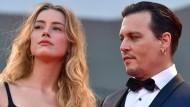 """""""Unüberbrückbare Differenzen"""": Amber Heard soll die Scheidung von Johnny Depp eingereicht haben."""