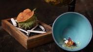 Müllers Küche ist so elaboriert, reduziert und zugleich kompliziert, dass man sie nicht einfach nebenbei wegessen kann.