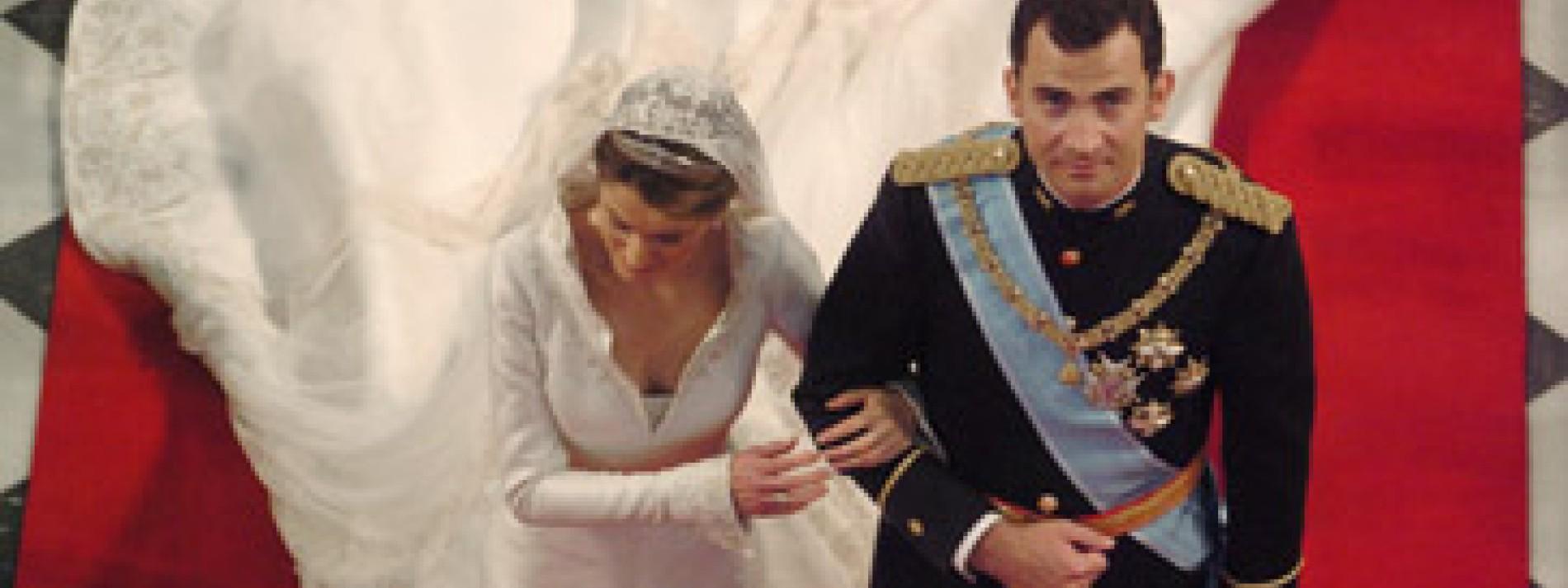 """Brautmode: Paco Rabanne über Letizia: """"Sie sah aus wie ein Vogel"""