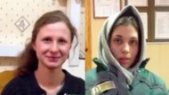 Zwei Mitglieder der Punkband Pussy Riot haben aus der Haft heraus Video-Interviews gegeben.