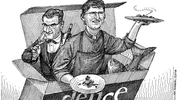 Die Schlacht der Ein-Mann-Küchenbrigade