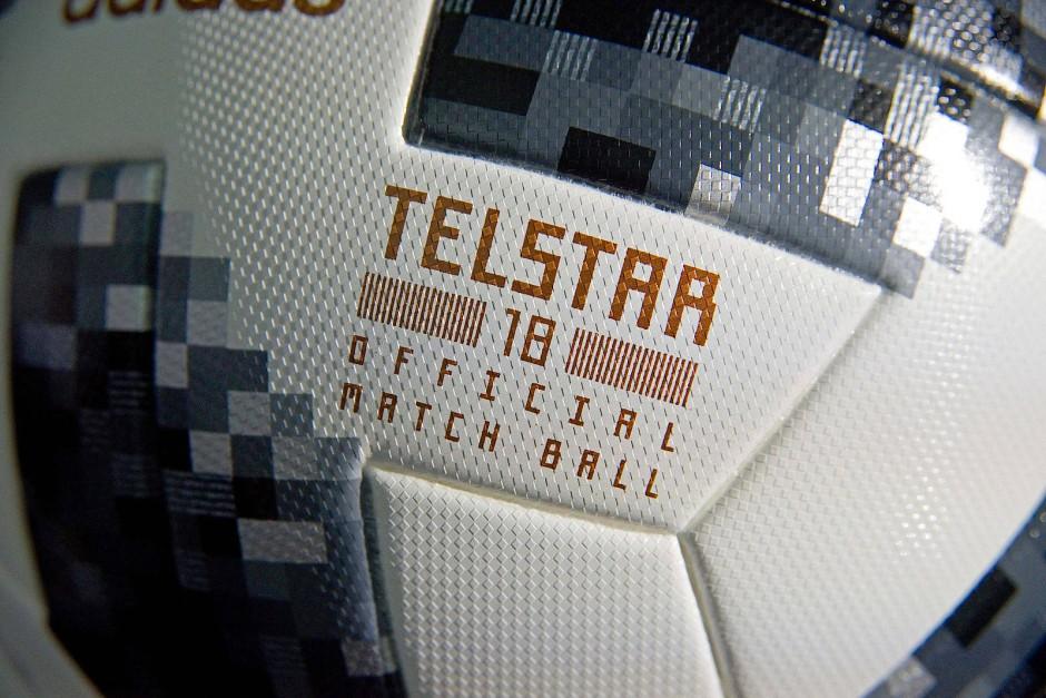"""Stiller Star des Turniers: Der Ball """"Telstar18"""" von Adidas ist in WM-Form."""