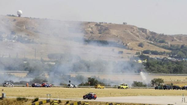 153 Tote bei Flugzeugunglück in Madrid