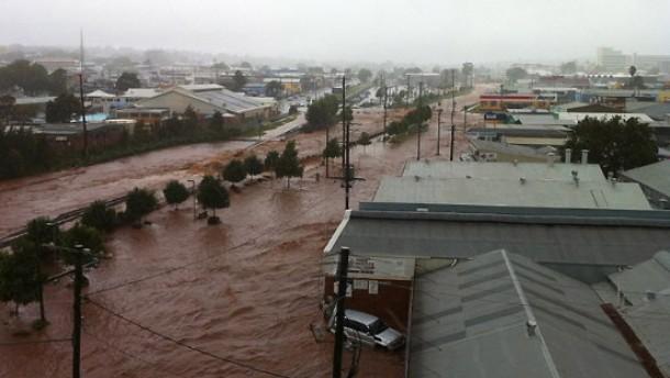 Flut erreicht Brisbane - zehn Menschen getötet