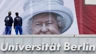 Merkel ist schon sehr amused