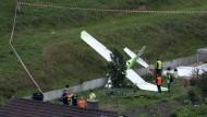 Ein Toter bei Absturz während einer Flugschau
