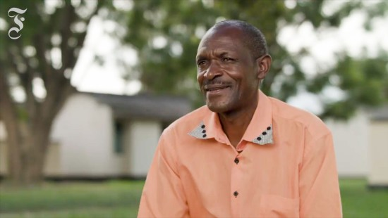 Felix Kangwa aus Sambia