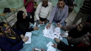 Sisi bei Präsidentenwahl im Amt bestätigt