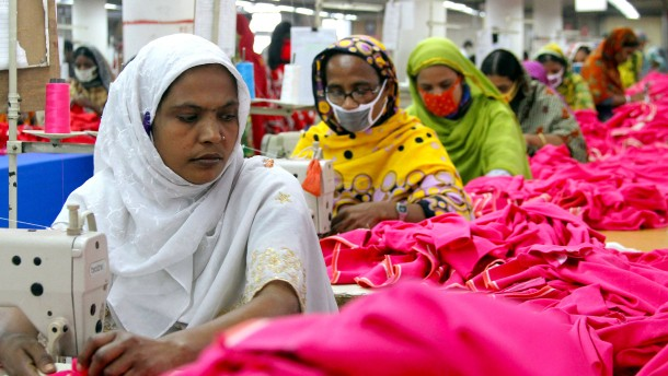 Tausende Textilarbeiter verlieren wegen der Corona-Krise ihre Jobs