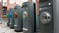 Müllbewältigung in Helsinkis Hafenviertel Kalasatama