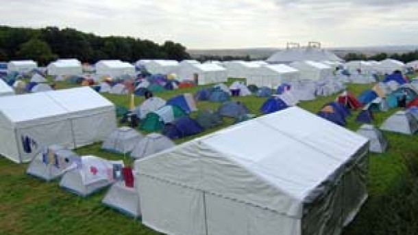 Brandanschlag auf Pilger-Camp verhindert