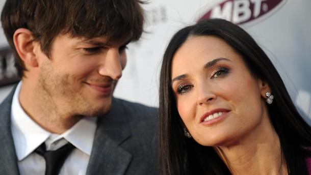 Ehe-Drama für Kutcher und Moore?