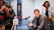 Das Buch zum Freispruch: Jörg Kachelmann und seine Frau Miriam am Freitag auf der Frankfurter Buchmesse