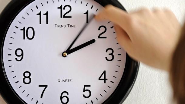 Eine Stunde länger schlafen