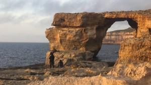 Berühmtes Felsentor auf Malta eingestürzt