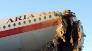 Tote und Verletzte bei Flugzeugunglück