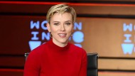 Kritik an Ivanka Trump: Scarlett Johansson bei der Women in the World-Konferenz in New York.