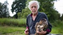 """""""Den Begriff Tierschützer liebe ich überhaupt nicht"""": Wolfgang Herkt mit einem Uhu"""