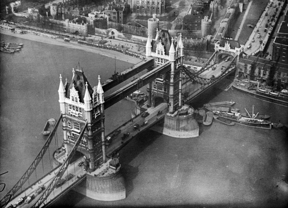 Bildergalerie Erste Luftaufnahmen London Vor 90 Jahren