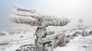 """""""Olaf"""" bringt zum ersten Advent Schnee und Schneeregen"""