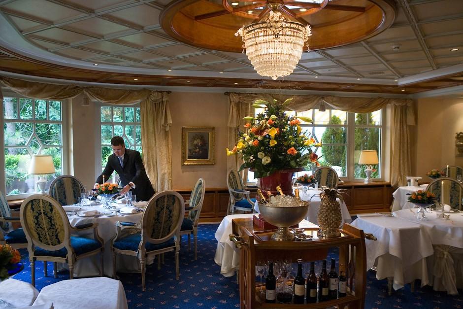 Das Restaurant Bareiss im gleichnamigen Hotel (Archivbild)