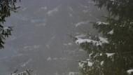 Die schwierige Suche nach dem Gleichgewicht: Sarkozy im Schnee in Les Glieres