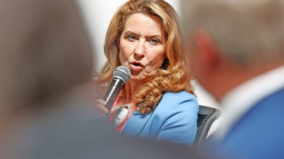 Heike Raab, Staatssekretärin und Bevollmächtigte des Landes Rheinland-Pfalz beim Bund, für Europa und Medien.