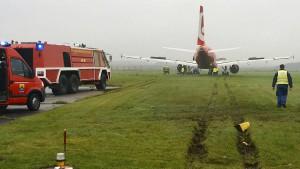 Flugzeug auf Sylt geborgen