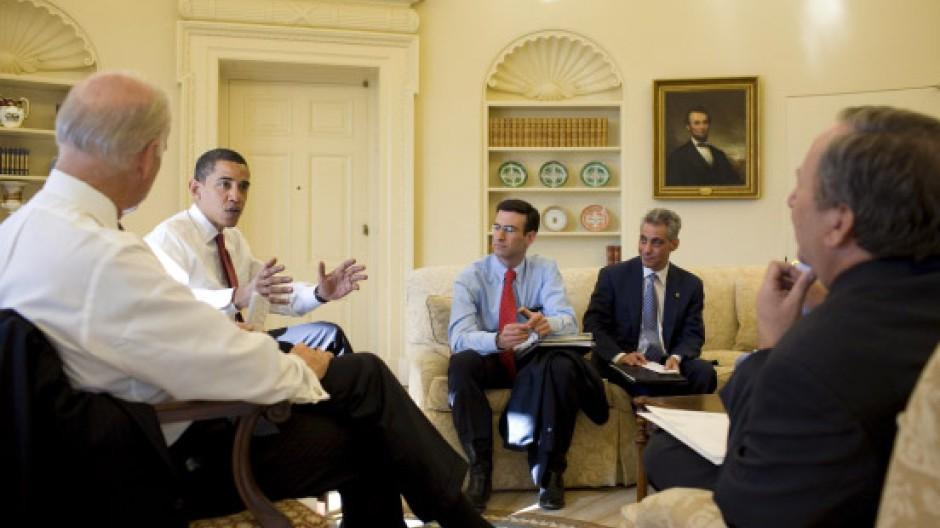 So streng und korrekt soll es in den Meetings im Oval Office nicht mehr zugehen