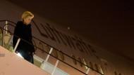 Ursula von der Leyen (CDU) auf dem Militärflughafen in Mazar-i-Sharif