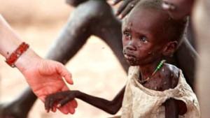 Hilfe für Hungernde in Afrika