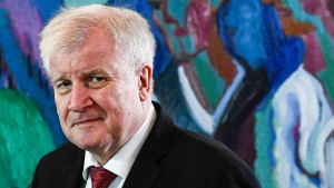 Was will Horst Seehofer?